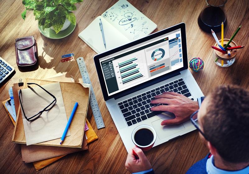 Top Finance Jobs UK 2019 man working at computer