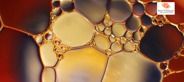 Career Resources for jobs in science. Abstract pic of cells.