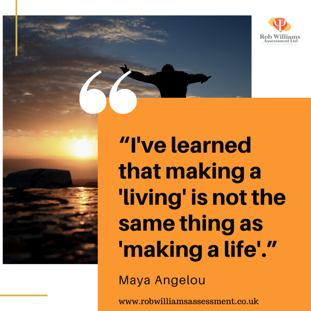 Maya Angelou quote for inspiration